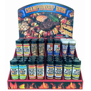 Championship Rub  Assorted  Seasoning Rub  7 oz.