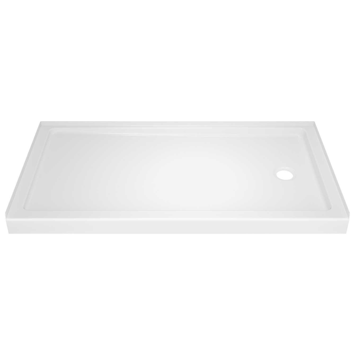 Delta Bathing System  Classic  Acrylic  Right Hand Drain  Rectangle  Shower Base
