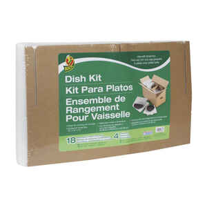 Duck Brand  16 in. W x 12 in. L Dish Protection Kit