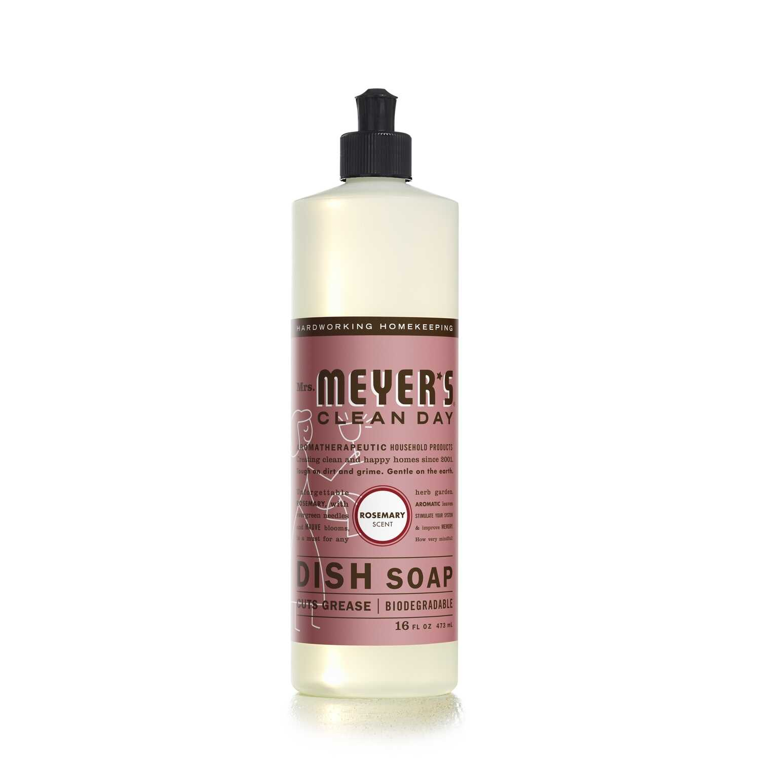 Mrs. Meyer's  Clean Day  Rosemary Scent Liquid  Dish Soap  16 oz.