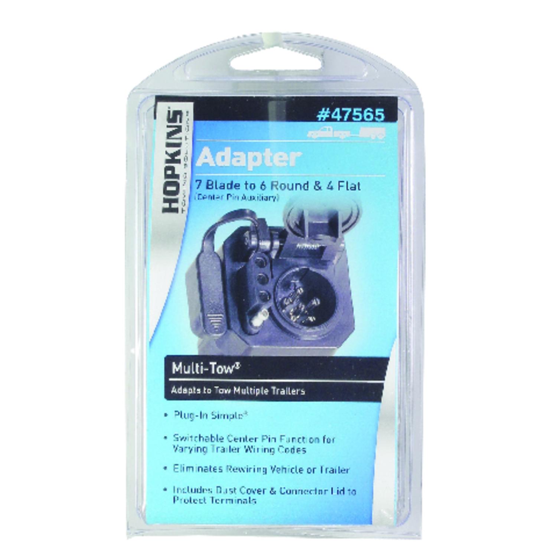 UPC 079976475655 - Hopkins 6 Pole Plug-In Simple Trailer Adapter ...