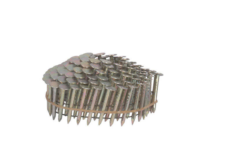 Stanley Bostitch  15 deg. 14 Ga. Smooth Shank  Straight Coil  Roofing Nails  1-1/4 in. L x 0.12 in.