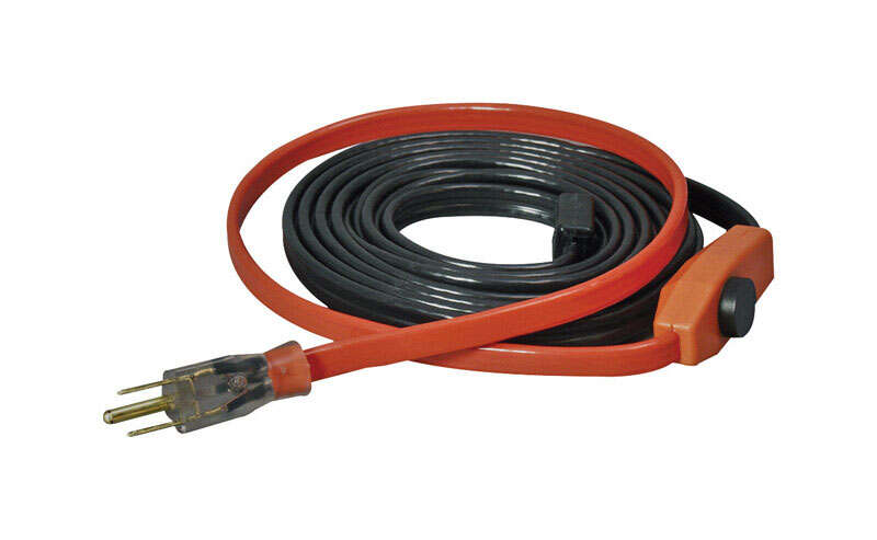 Easy Heat  9 ft. L AHB  Heating Cable  For Water Pipe Heating Cable