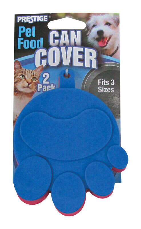 Prestige Prints Assorted Plain Rubber 1 oz. Pet Food Storage Container For Universal