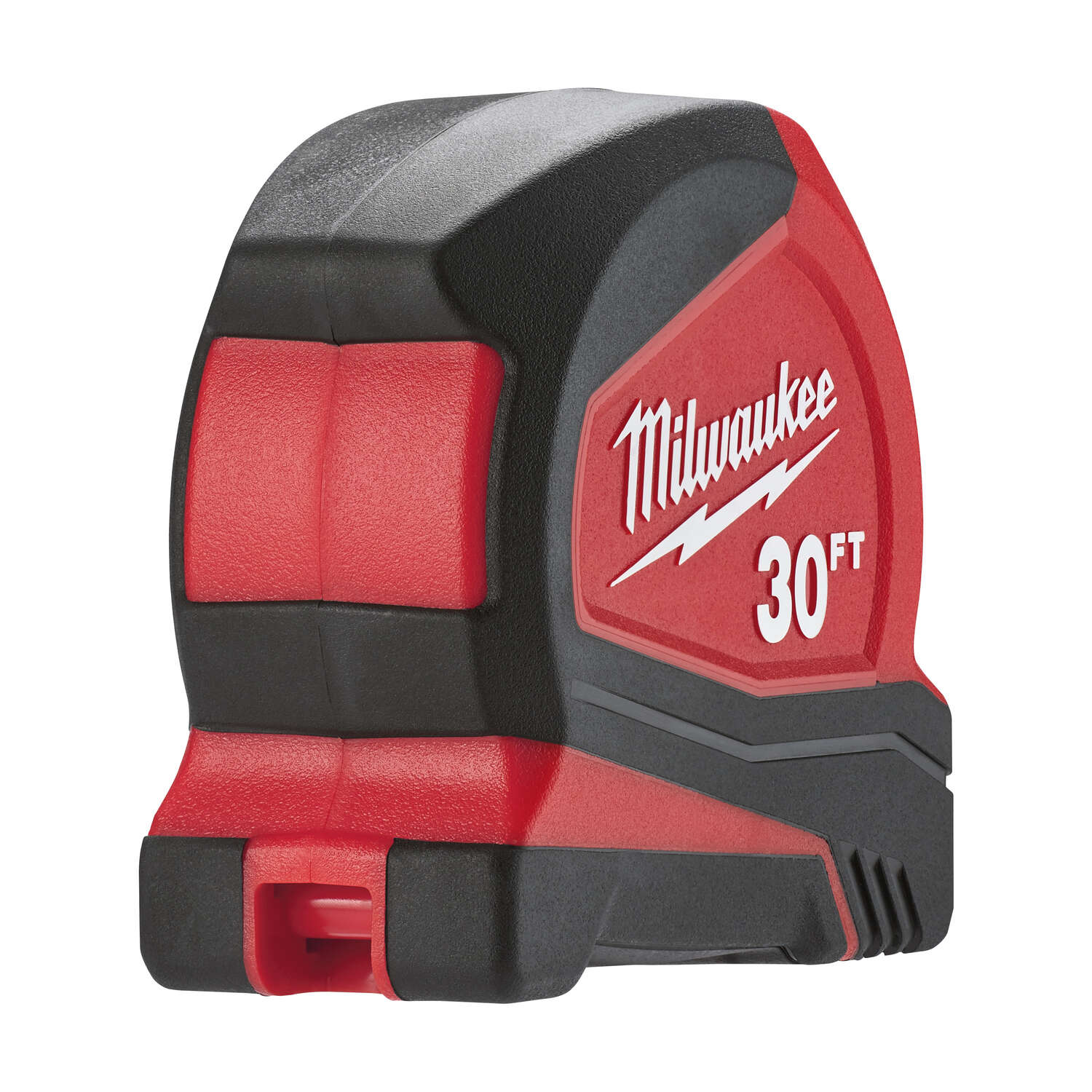 Milwaukee  30 ft. L x 1.65 in. W Compact  Red  1 pk Tape Measure