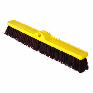 Rubbermaid Commercial  Heavy Duty Push Broom  24 in. W Polypropylene