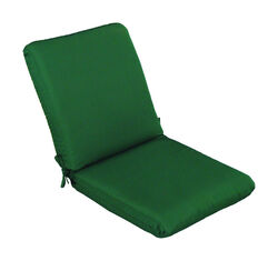 Casual Cushion  Green  Polyester  Seating Cushion  4 in. H x 22 in. W x 44 in. L