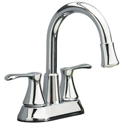 OakBrook Doria Chrome Two Handle LED Lavatory Pop-Up Faucet 4 in.