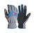 Ace  L  Synthetic Leather  Cold Weather  Blue/Gray  Gloves