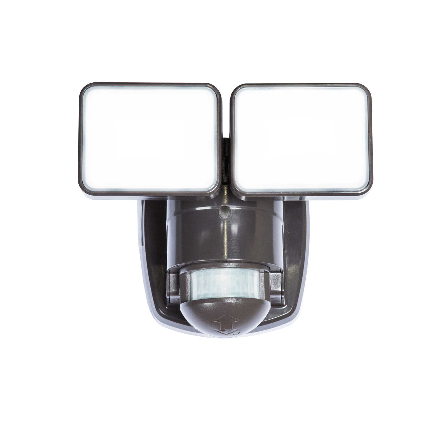 Heath Zenith  LED  Bronze  Security Wall Light  Hardwired  Motion-Sensing