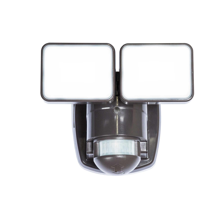 Heath Zenith Motion-Sensing Hardwired LED Bronze Security