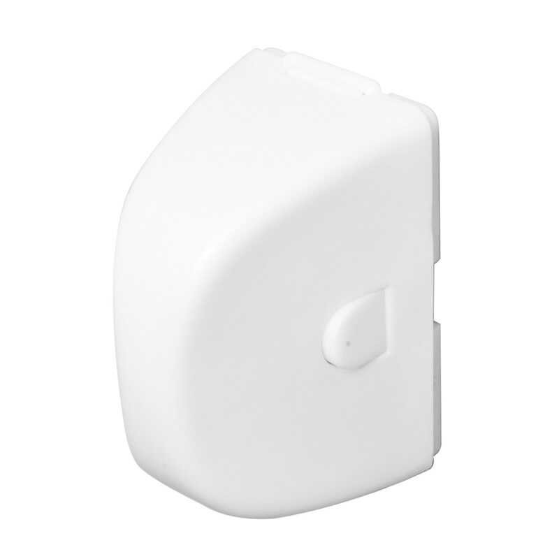 ChildSafe  White  Plastic  Outlet Cover  2 pk