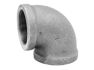 Anvil  3/4 in. FPT   x 3/4 in. Dia. FPT  Galvanized  Malleable Iron  Elbow