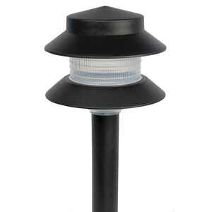 Paradise  Black  Low Voltage  4 watts LED  Pathway Light  1 pk