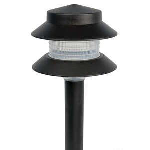Paradise  Black  Low Voltage  LED  4 watts Pathway Light  1