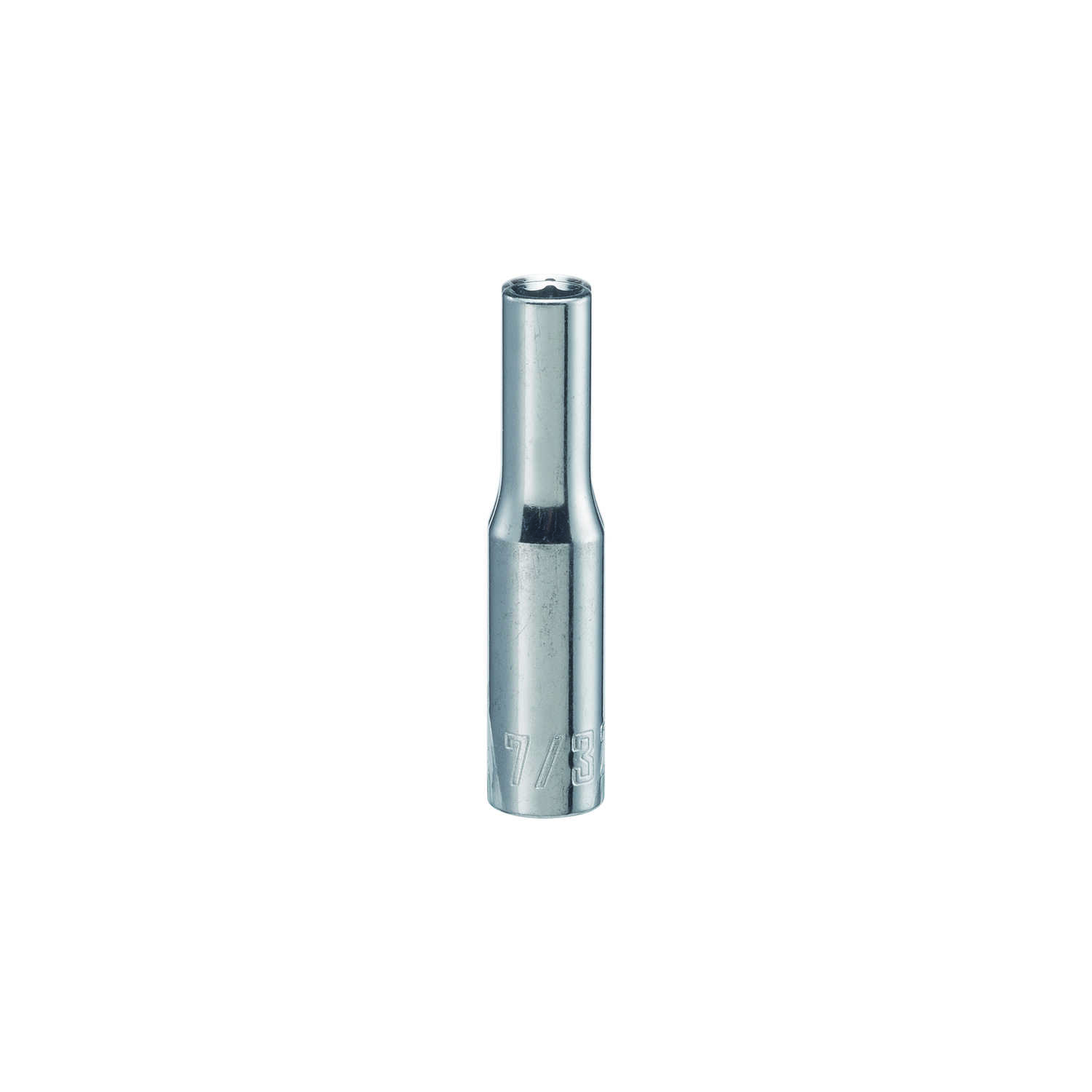 Craftsman  7/32 in.  x 1/4 in. drive  SAE  6 Point Deep  Socket  1 pc.