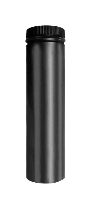 Selkirk  8 in. Dia. x 36 in. L Stainless Steel  Stove Pipe