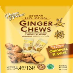 Prince of Peace  Ginger  Chewy Candy  4.4 oz.