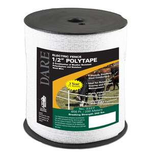 Dare Poly Tape 1/2 in. x 656 ft.