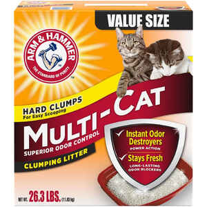 Arm & Hammer  No Scent Cat Litter  26.3 lb.