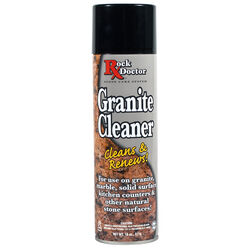 Rock Doctor  No Scent Granite Cleaner  18 oz. Spray