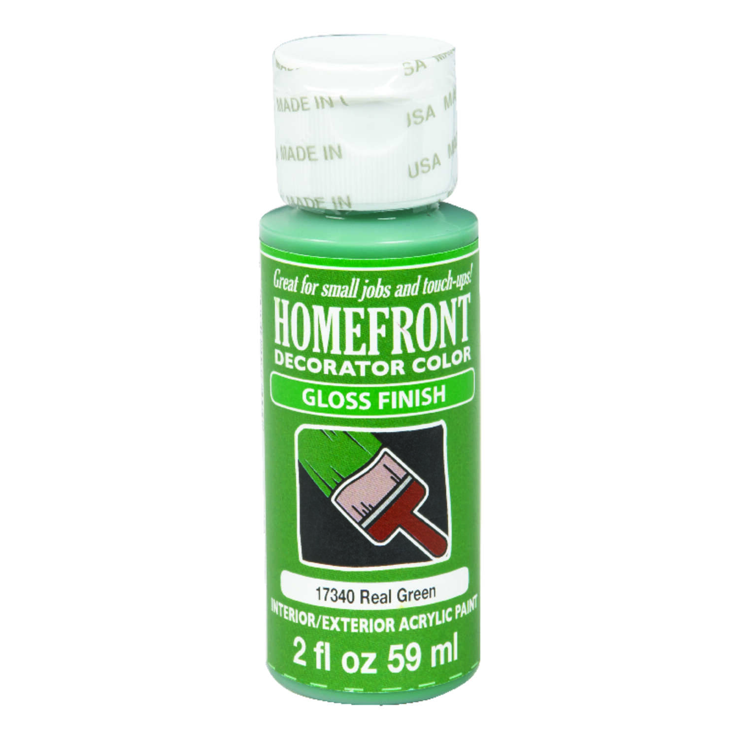 Homefront  Gloss  Real Green  Hobby Paint  2 oz.