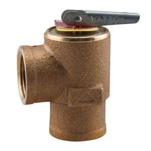 Watts  3/4 in. FNPT  Brass  Pressure Relief Valve  FNPT
