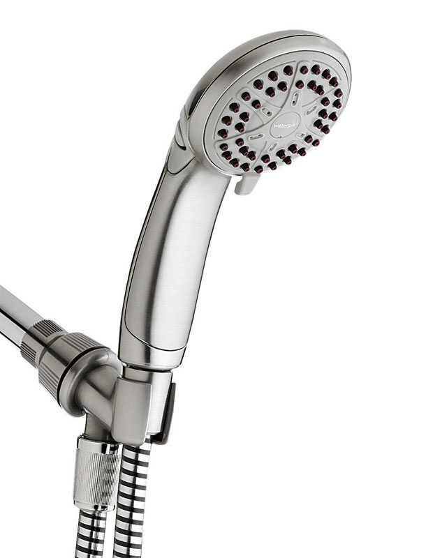 Waterpik  Showerhead  4 settings 1.6 gpm
