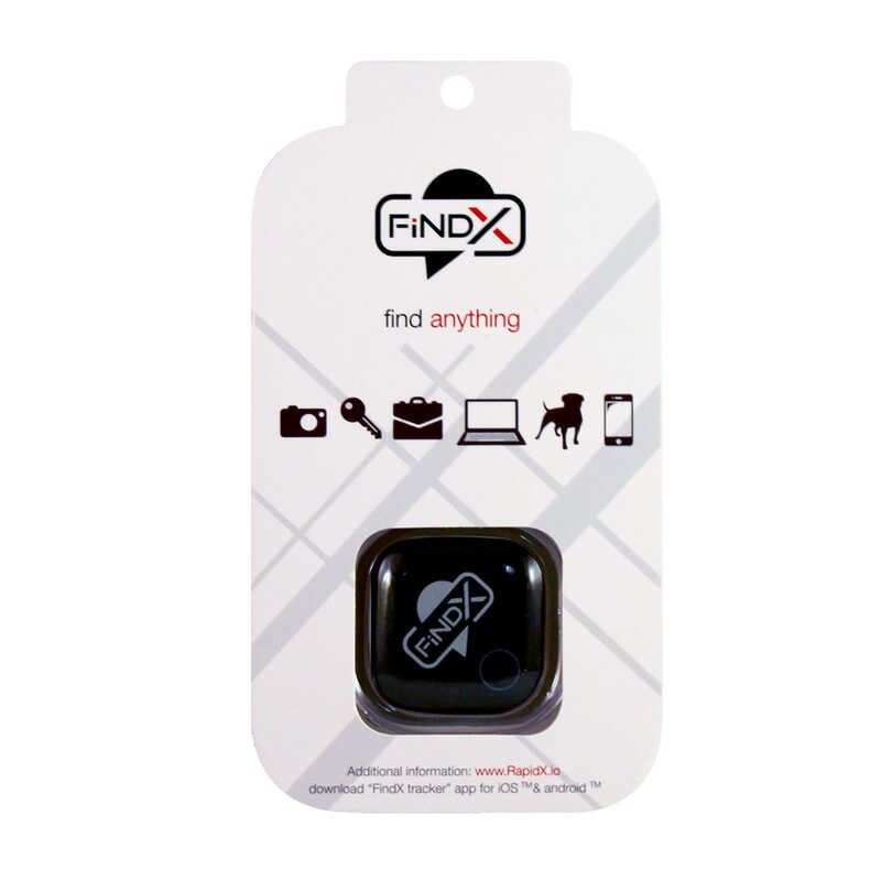 FindX  Bluetooth tracker- Device Locator  Item Finder  Plastic  1 pk