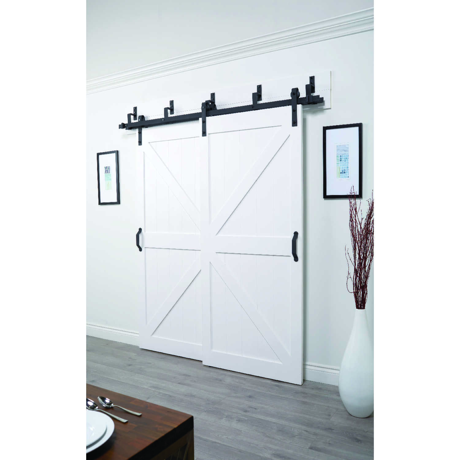 ACME  Sliding Door Track Kit