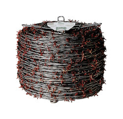 Red Brand  1320 ft. L 12.5 Ga. 4-point  Galvanized Steel  Barbed Wire
