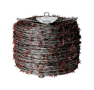 Red Brand  1320 ft. L 12 Ga. 4-point  Galvanized Steel  Barbed Wire
