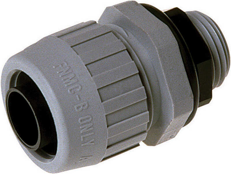Raco  1 in. Dia. Nylon  Electrical Conduit Connector  For Type B 10 each