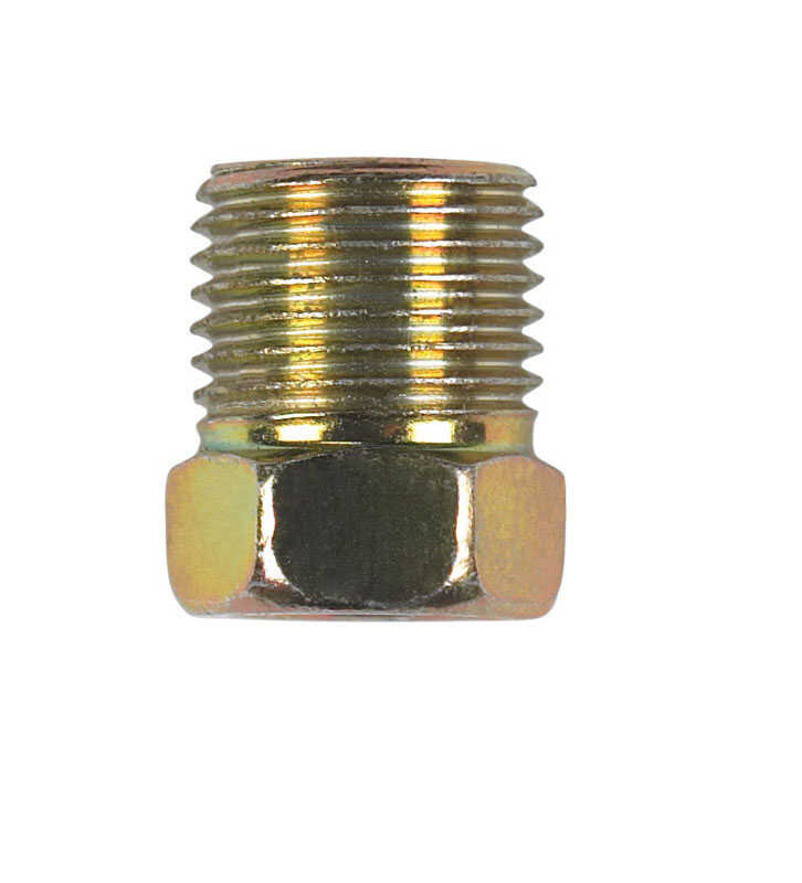 JMF  1/4 in. Steel  Inverted Flare Nut
