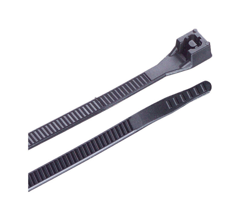 Gardner Bender  Xtreme Temp  11 in. L Black  Cable Tie  20 pk
