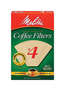 Melitta  12 cups Cone  Coffee Filter  1 pk
