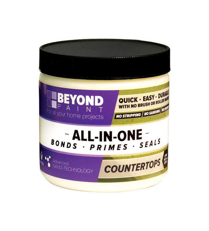 BEYOND PAINT  All-In-One  Matte  Bone  Acrylic  Paint  Water-Based  1 qt.