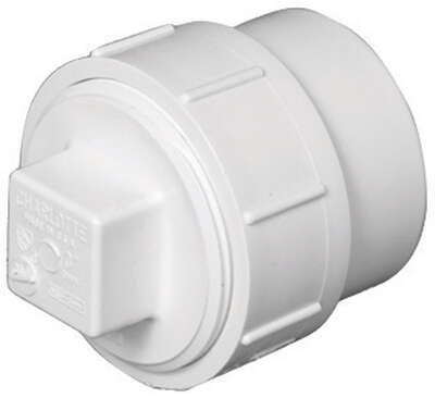 Charlotte Pipe  Schedule 40  4 in. Spigot   FPT  PVC  Cleanout Adapter