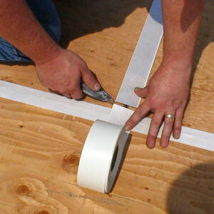 Ames  Matte  White  Roof Tape  80 oz.
