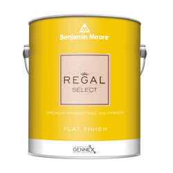 Benjamin Moore Regal Flat Base 1 Paint Interior 1 gal.