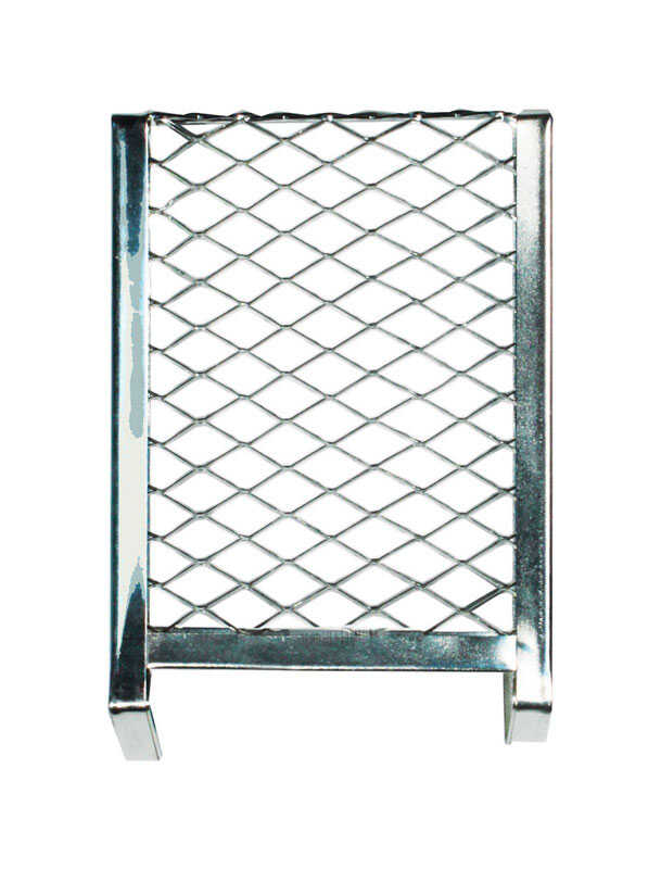 Linzer  10 in. W Metal  Paint Can Grid  Silver