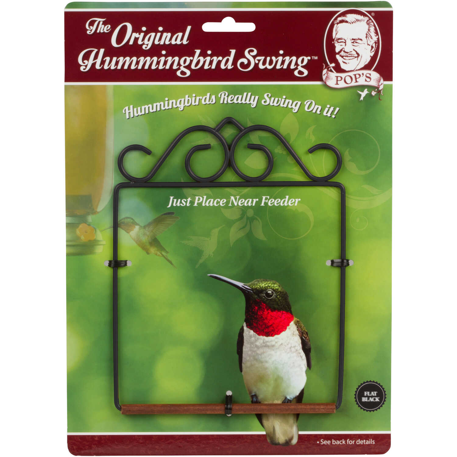 Pop's  Hummingbird Swing