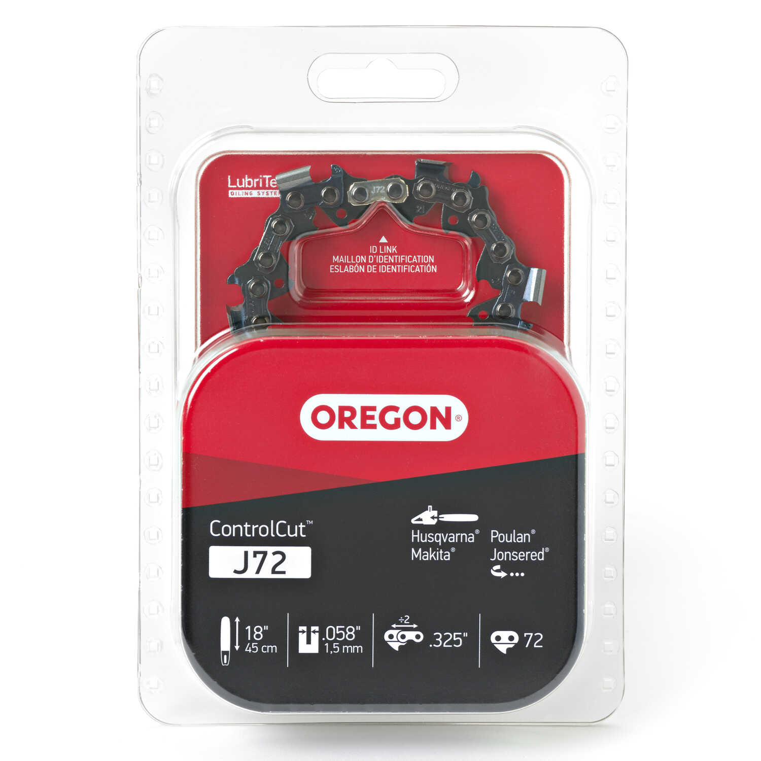 Oregon  ControlCut  18 in. 72 links Chainsaw Chain
