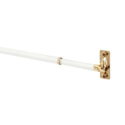 Kenney White Sash Rod 21 in. L x 38 in. L