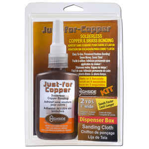 Highside Chemicals  Just For Copper  5-3/8 in. L x 8-1/2 in. W Copper and Brass Bonding Kit  2 pc.
