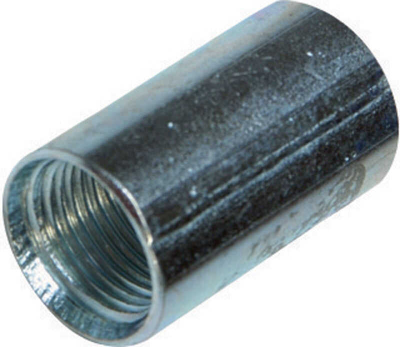 Sigma Electric ProConnex  1/2 in. Dia. Zinc-Plated Steel  Conduit Coupling  For Rigid/IMC 1 pk