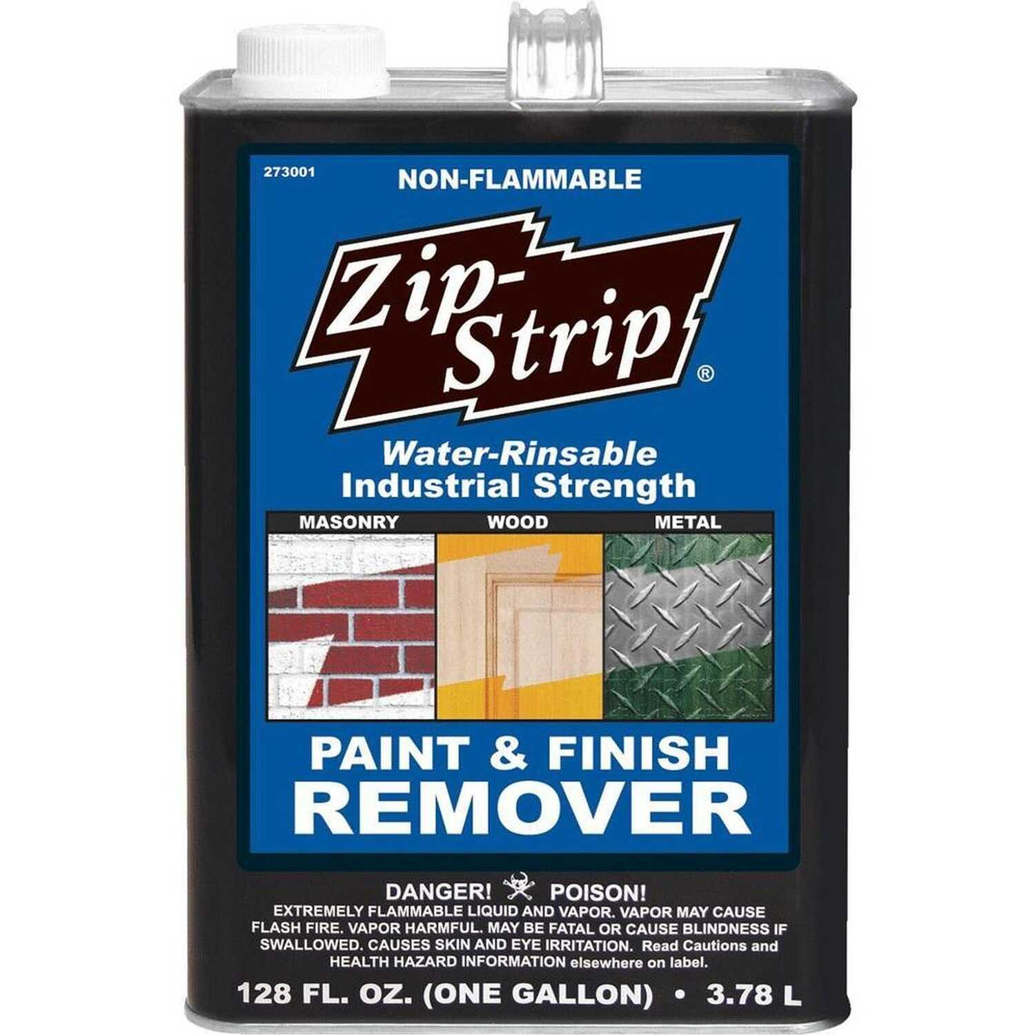 Zip-Strip  Industrial Paint & Finish  Professional Strength Paint Remover  128 oz.