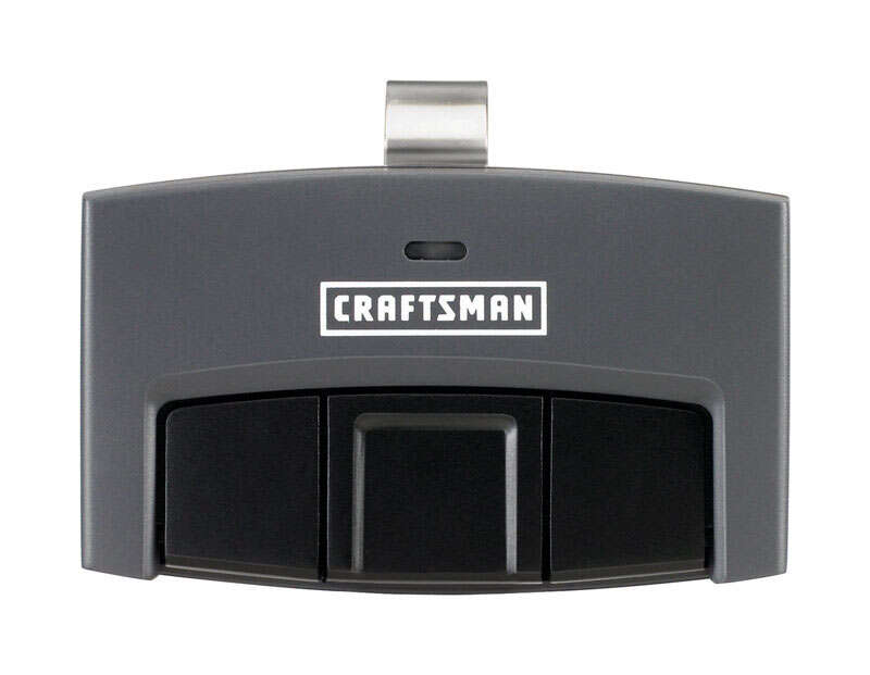 Craftsman  2 Door 3 Door  3 Function Garage Door Remote  For All Major Brands Manufactured After 199