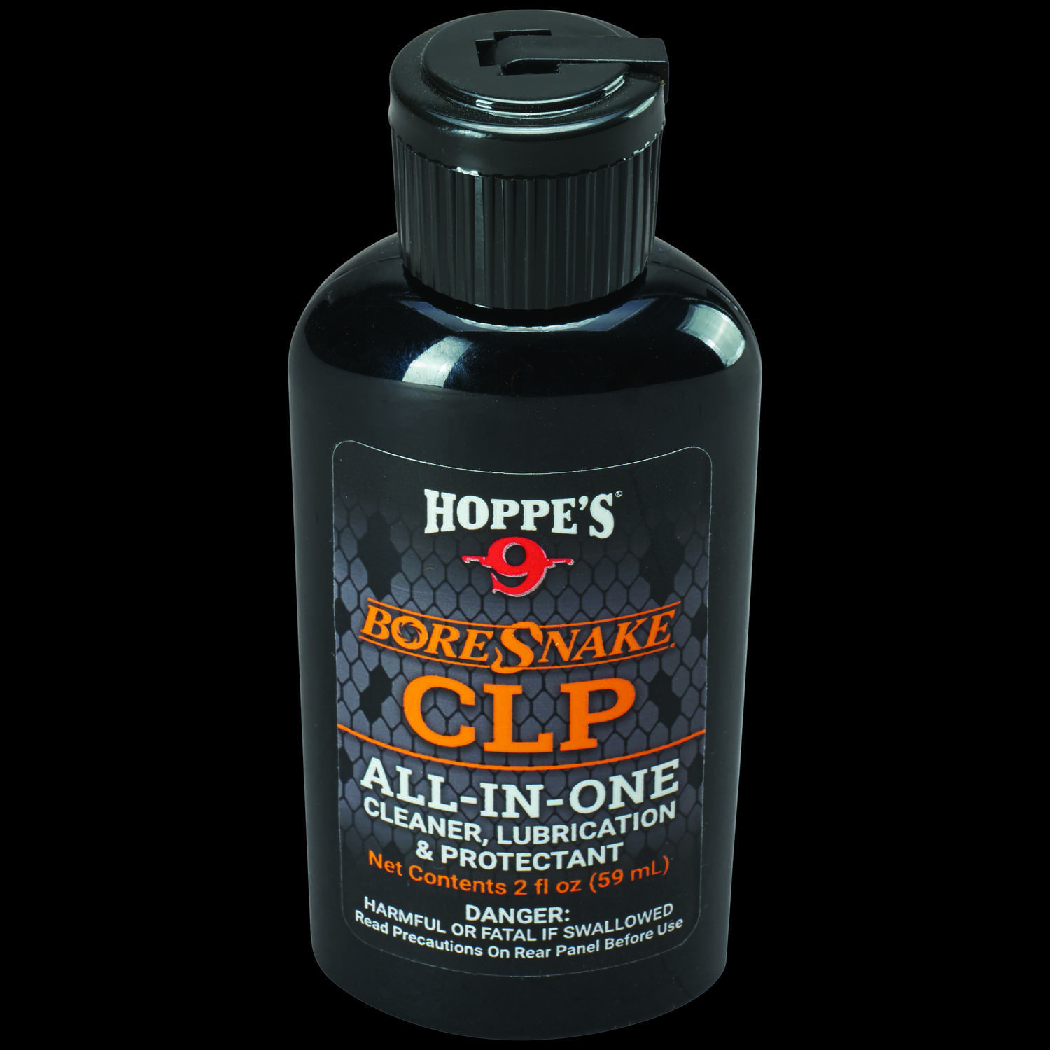 Hoppe's No. 9  BoreSnake  Gun Cleaner/Lubricant/Protectant  2 oz. 1 pc.