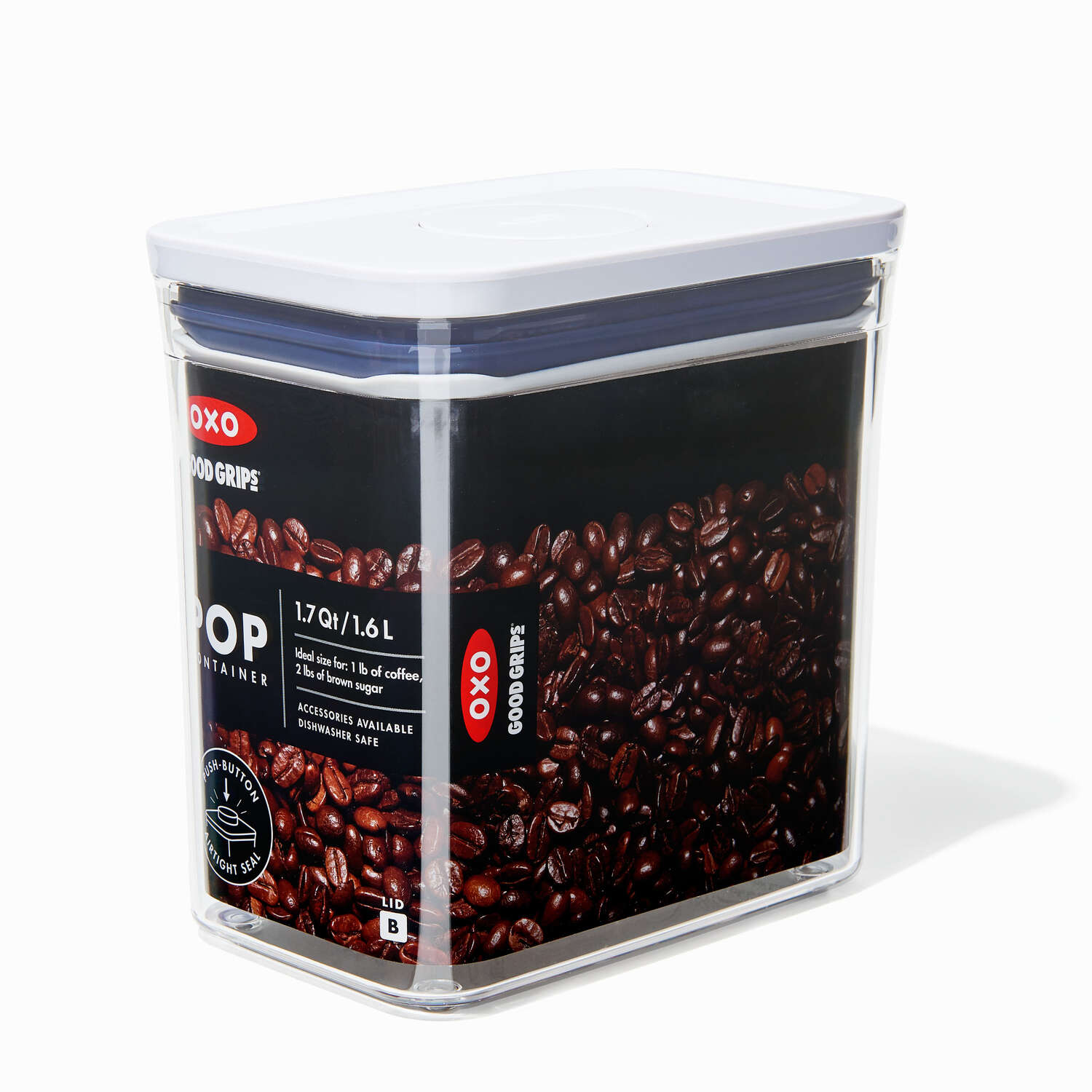 OXO Good Grips 1.7 qt. Clear Pop Container 1 pk